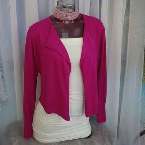 Express Pink Open Cardigan Shrug Size Small NWT